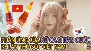 [Hai Nón TV] PHẢN ỨNG CỦA NỮ CA SĨ HÀN QUỐC KHI ĂN THỬ SỐT VIỆT NAM | with Lucia Sim Kyu sun