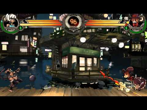 Skullgirls Had A Kitty Girl And Her Head Popped Off