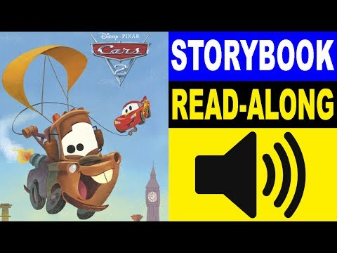 Cars Read Along Story Book | Cars 2 Storybook | Read Aloud Story Books For Kids