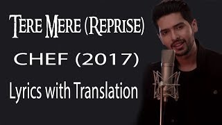 Tere Mere Song (Reprise) lyrics with translation   - YouTube