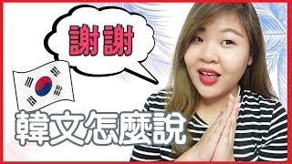 [韓語教室] 謝謝的韓文怎麼說? Say Thank You in Korean l Cher is chercher韓語小教室