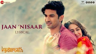 Jaan 'Nisaar lyrics in hindi