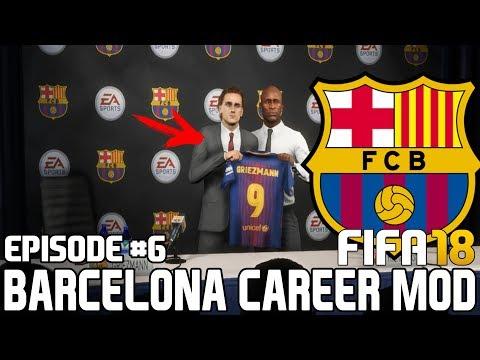 FIFA 18   Карьера тренера за Барселону [#6]   ГРИЗМАНН В БАРСЕЛОНЕ - ОТЛИЧНОЕ ПРИОБРЕТЕНИЕ