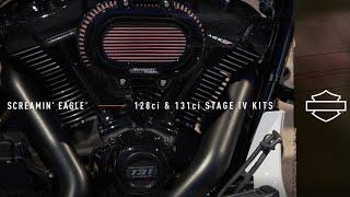 Harley-Davidson<sup>®</sup> Screamin' Eagle 128 & 131 Stage IV Kits