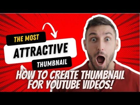Make Thumbnail for youtube video