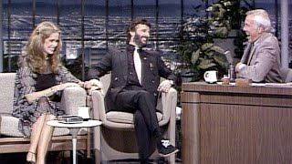 Ringo Starr and Barbara Bach on The Tonight Show Starring Johnny Carson - 05/06/1981 - pt. 1