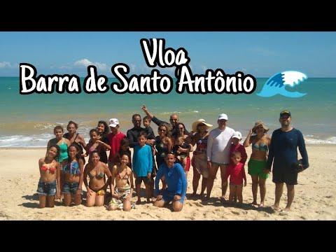 Vlog: Barra de Santo Antônio!🐚🌊💦