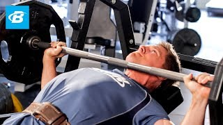 Steve Cook Chest and Triceps Workout | Big Man on Campus by Bodybuilding.com