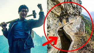FOR 36 YEARS THIS MAN WAS CLIMBING MOUNTAINS… THE REASON WAS A LONG TUNNEL