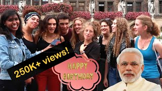 Birthday Wishes to Narendra Modi from all over the World! | #Desifirangi | #birthdayspecial