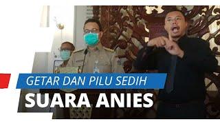 Video Anies Baswedan Bicara Pemakaman 283 Jenazah dengan Suara Bergetar: Warga Itu Bulan Lalu Sehat