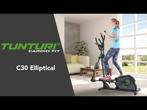 Promovideo: Eliptický trenažér TUNTURI Cardio Fit C30 Crosstrainer Rear