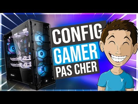 CONFIG PC GAMER PAS CHER (500€ / 800€ / 1000€)