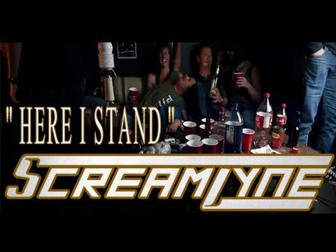 Screamlyne - Here I Stand (Official Music Video)