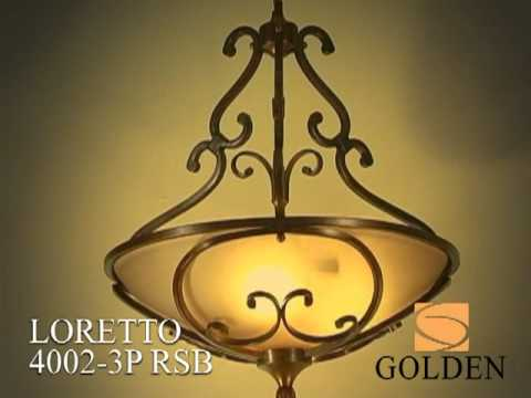 Video for Loretto Russet Bronze Four-Light Bath Fixture