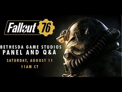 QuakeCon 2018 - Fallout 76 and Fan Q&A