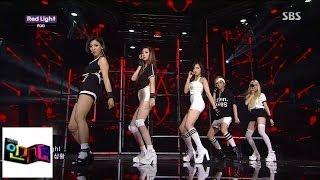 [F (x)]] red light red light @ popular Inkigayo 140713