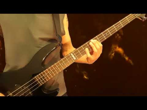 Manowar - Each Dawn I die Bass cover