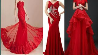 TOP 10 GORGEOUS RED EVENING DRESSES 2019 ||  PROM DRESSES || GOWNS