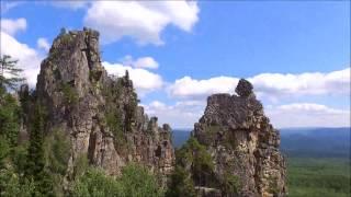 Красоты России  с высоты птичьего полета. Часть I