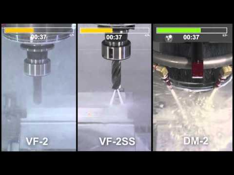 Сравнение скоростных возможностей вертикально-фрезерных центров Haas