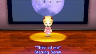 Think of Me Tomodachi Life Edition   From Andrew Lloyd Webber's Phantom of the Opera