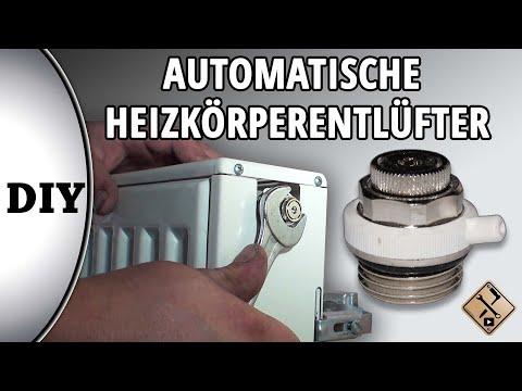Automatische Heizkörperentlüfter montieren - wie? Von M1Molter