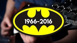 Batman Movie Themes (1966 - 2016) on Guitar