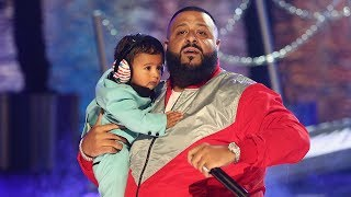 "DJ Khaled's Son Asahd Steals The Show During ""I'm The One"" BET Awards Performance"