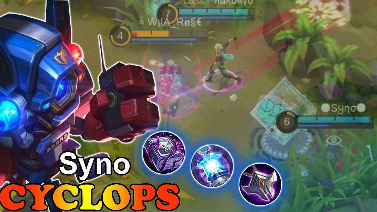 Saber Exploder S Syno Week 6 Mobile Legends Cyclops Diamond Mobil Legend 966 Download Youtube Thumbnail