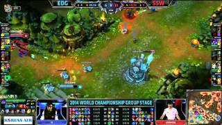 EDG (Namei Lucian) VS SSW (Mata Nami) Highlights - S4 World Group