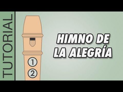 , title : 'Cómo tocar el Himno de la Alegría en Flauta Dulce - Canciones Fáciles - Tutorial con Notas'