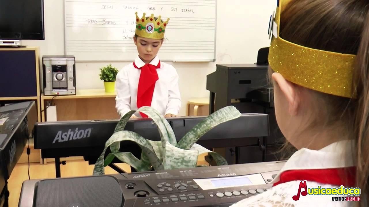 El trono del rey - Grupo de alumnos de Mi teclado 2 - Escuela de música Mozarteum - Bigastro