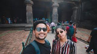 Complete Tour of the Elephanta Caves | Gateway of India | Mumbai Ferry | STRAY ARTIST