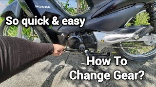 how to drive semi automatic transmission motorcycle - TH-Clip