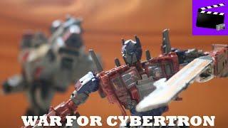 Transformers: War For Cybertron | Optimus Prime Vs Megatron | Stop Motion Film