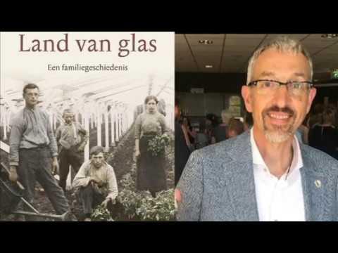 Bekijk details van Lezing over familiekroniek Land van Glas door schrijver Koen van Wijk