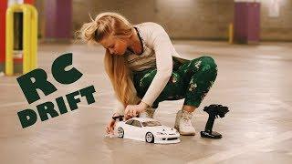 Катя красит кузов | Этап по RC Drift | Тюнинг авто 1:10 и покраска кузова