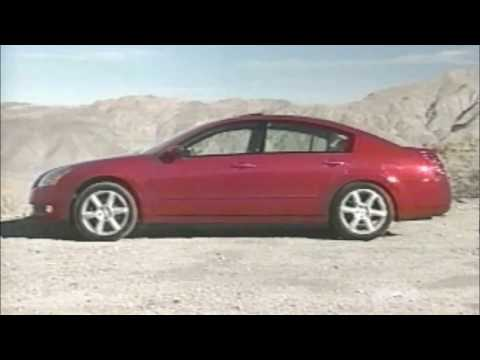 2004 Nissan Maxima Road Test Preview
