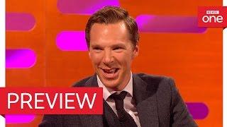 Bryan Cranston & Benedict Cumberbatch's weddings talk - The Graham Norton Show 2016 - BBC One