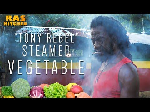 """""""Tony Rebel"""" Steamed Vegetable Rasta Style!"""