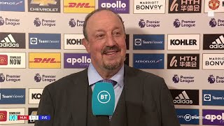 Rafa Benitez lauds Andros Towsend's quality and praises Everton's effort in deserved Man Utd draw
