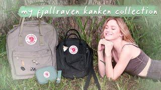 Fjallraven Kanken Collection | review  *backpack, sling bag, wallet, keyring*