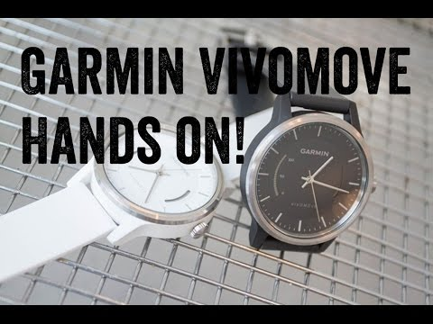 Garmin Vivomove Hands-on: Detailed look at the new watch (in 4K!)