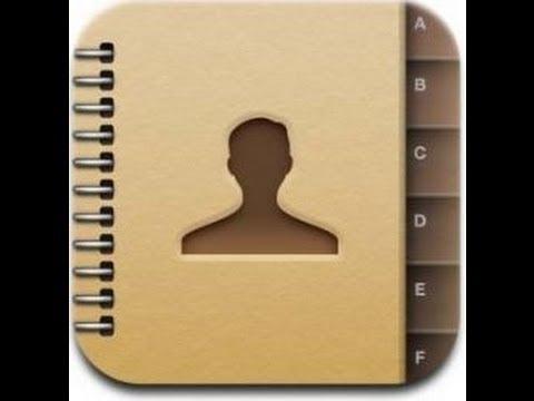 comment retrouver ses contacts iphone