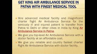Hire Instant Patient Relocation Air Ambulance in Delhi at Low-Fare