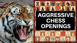 Chess Openings: Tutorial: Top 10 Outrageously Aggressive Chess Openings For White