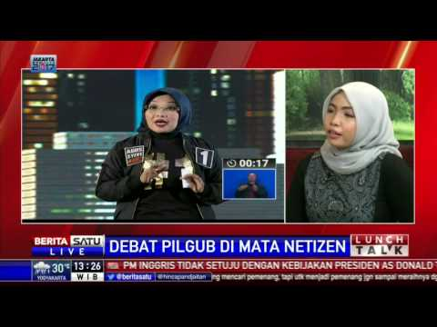 Lunch Talk: Debat Pilgub Di Mata Netizen #2