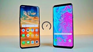 Oppo Find X vs Samsung Galaxy S9 Plus - Speed Test!