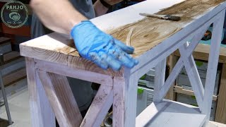 How To Distress Painted Furniture (2 Easy Techniques)